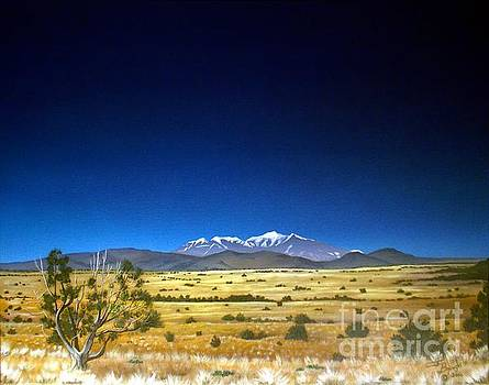 San Francisco Peaks by Jerry Bokowski