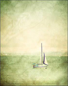 San Francisco Sailboat by Ken Reardon