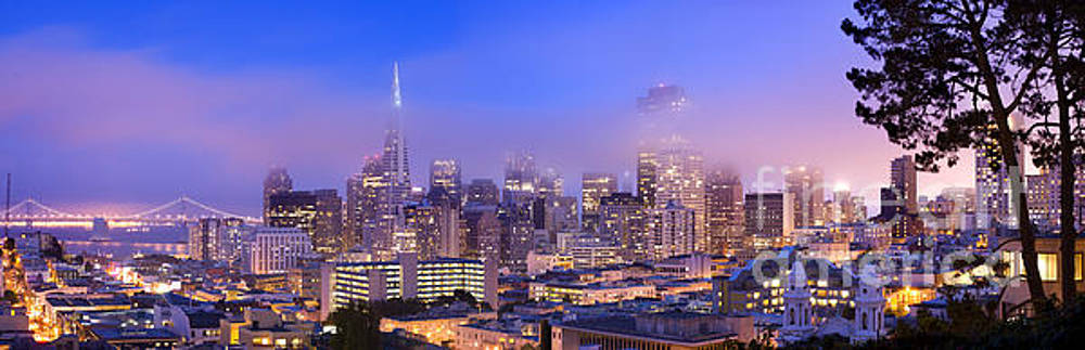 San Francisco skyline by Justin Foulkes