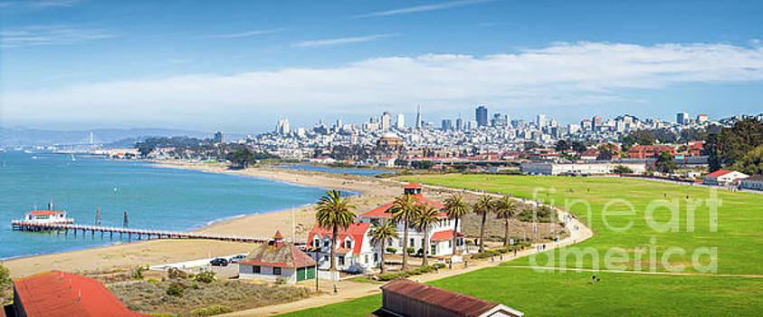 San Francisco Skyline Panorama by JR Photography