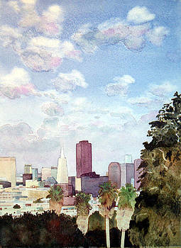 San Francisco skyline by Scott Mulholland