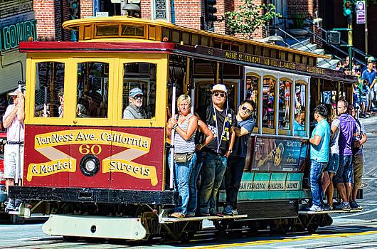 San Francisco street car by Mark Chandler