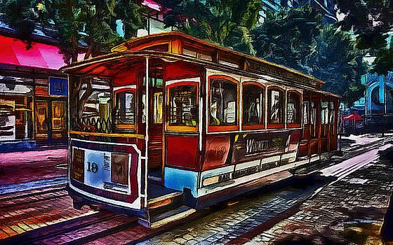 San Francisco Street Car by William Wooding