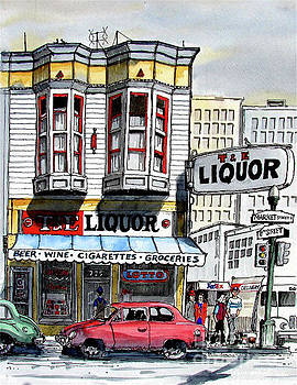 San Francisco Street Corner by Terry Banderas