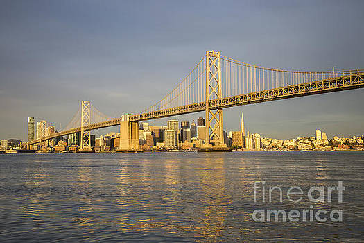 San Francisco Sunrise City of Gold by Hugh Stickney