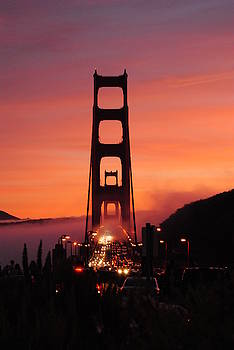San Francisco Sunset - Golden Gate Bridge by Eb