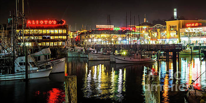 San Francisco's Fisherman's Wharf by Michael Tidwell