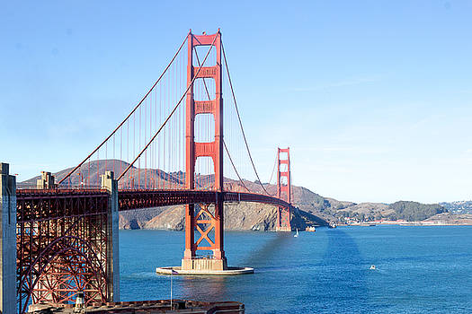 San Francisco's Golden Gate Bridge by G Matthew Laughton