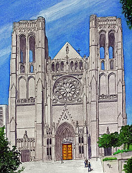 San Francisco's Grace Cathedral by Mike Robles