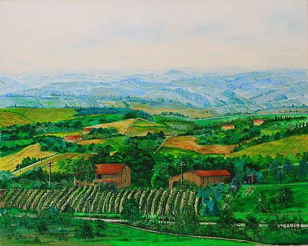 San Gimignano by Christopher Keeler Doolin