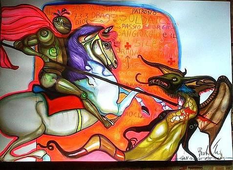 San Giorgio e il drago by Beatrice Feo Filangeri