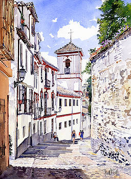 San Gregorio Granada by Margaret Merry
