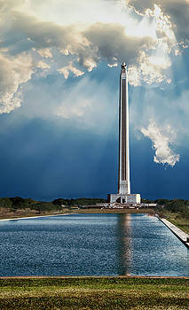 San Jacinto monument by Roy Nierdieck