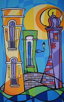 San Juan Alegre-1 by Mary Tere Perez