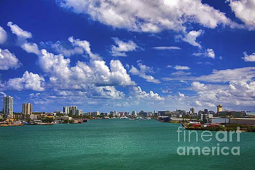 San Juan Bay by Mariola Bitner