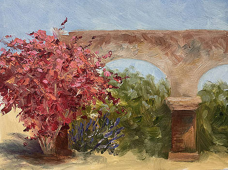 San Juan Bougainvillea by Nancy Goldman