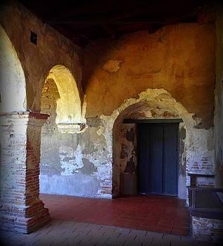 San Juan Capistrano Mission by Donna Spadola