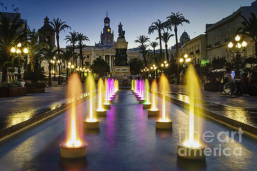 San Juan de Dios Town Hall Square Cadiz Spain by Pablo Avanzini