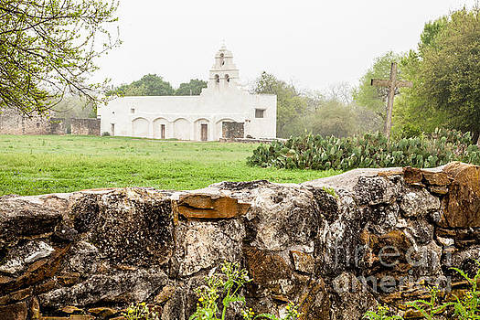 San Juan  Mission by Iris Greenwell