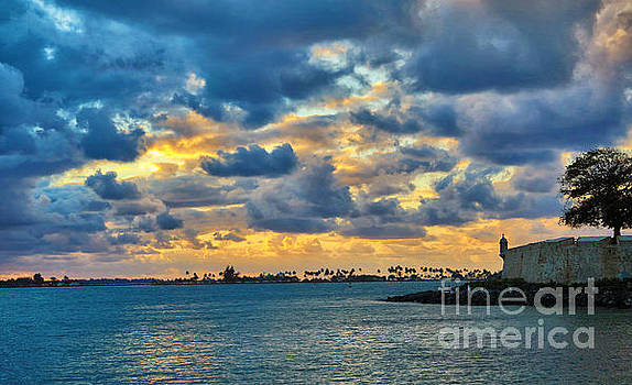 San Juan Sunset by Mariola Bitner