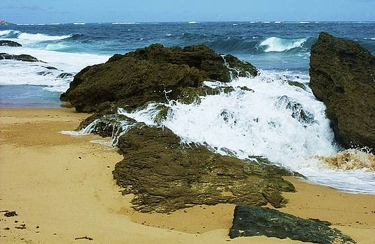 San Juan Surf II by Anna Villarreal Garbis