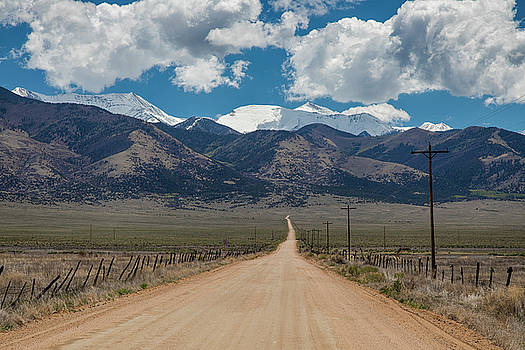 San Luis Valley Back Road Cruising by James BO Insogna