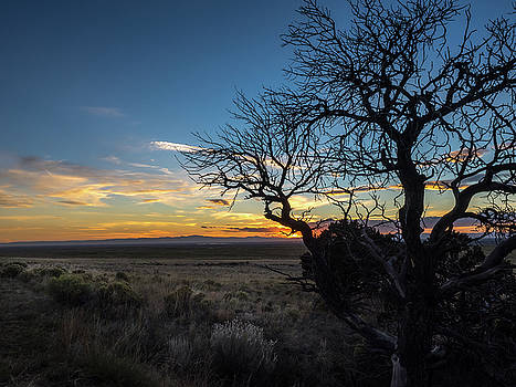 San Luis Valley Sunset - Colorado by Nadja Rider