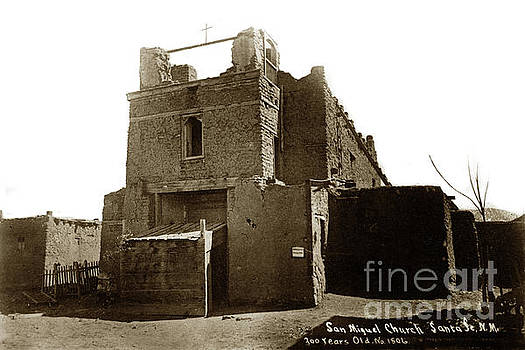 California Views Mr Pat Hathaway Archives - San Miguel Church, Santa Fe, New Mexico