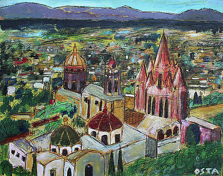 San Miguel from Mirador by Andrew Osta