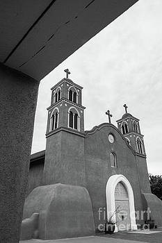 San Miguel Mission - Socorro, New Mexico by John Greco