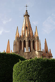 John  Mitchell - SAN MIGUEL STEEPLE San Miguel de Allende Mexcio