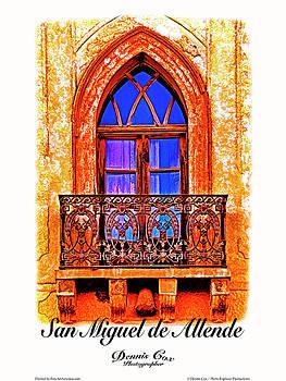 Dennis Cox Photo Explorer - San Miguel Travel Poster