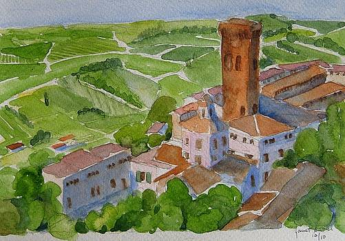 San Miniato Italy by Janet Butler