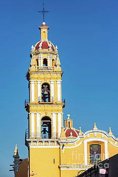 San Pedro Church Tower by Jess Kraft