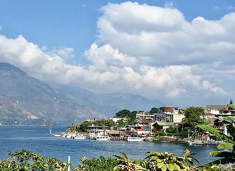 San Pedro Lago de Atitlan  by Claire McGee