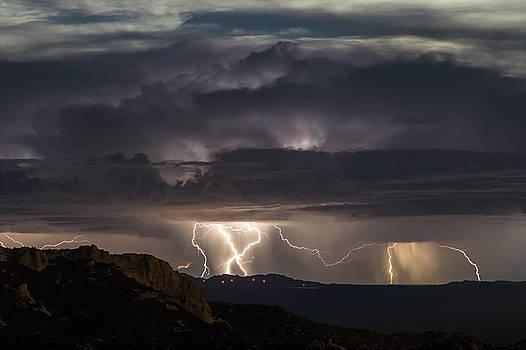 San Pedro Light Show by Ryan Seek