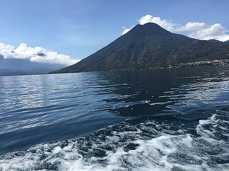 San Pedro Volcano  by Claire McGee