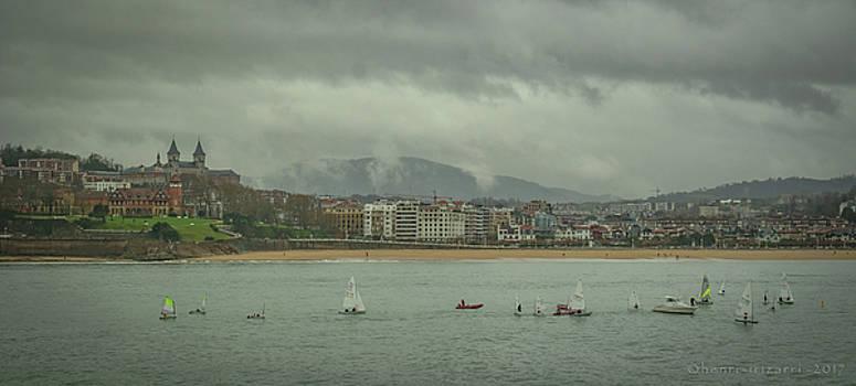 San Sebastian Spain by Henri Irizarri
