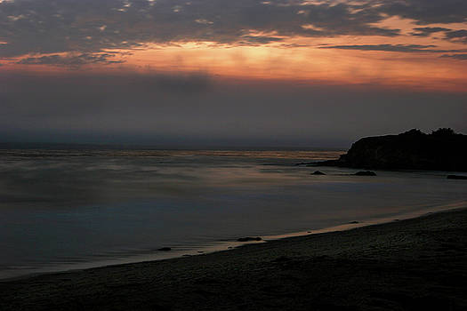 San Simeon Sunset 001 by Lon Casler Bixby