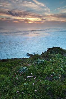 San Simeon Sunset by Nolan Nitschke