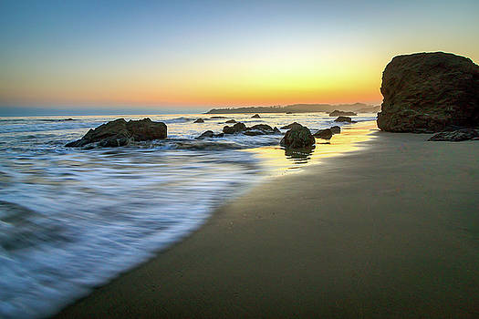 San Simeon Sunset by R Scott Duncan