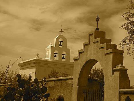 San Xavier Chapel by Chris Koval