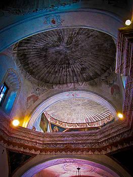 San Xavier del Bac Mission by Mary Nash-Pyott