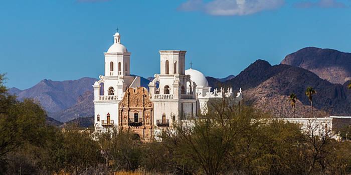 San Xavier Mission Tucson by Ed Gleichman