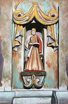 San Xavier Statue by M Diane Bonaparte