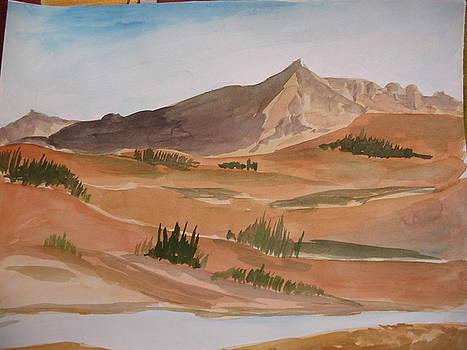 Sand and Hills  by Ram Reddy Sudi Reddy