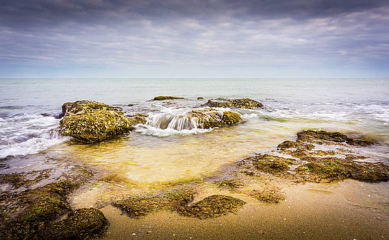 Sand And Rocks by Gary Gillette