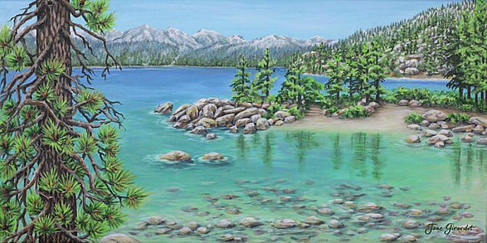 Jane Girardot - Sand Beach Lake Tahoe
