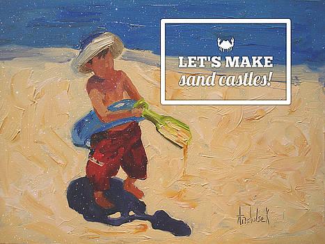 Sand Castles by Barbara Andolsek