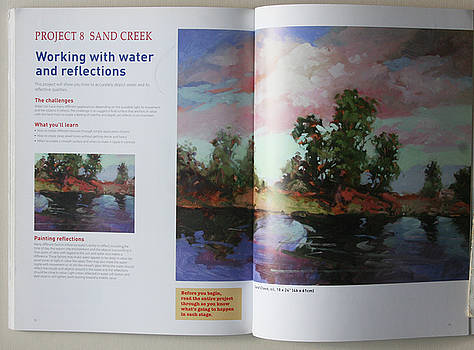 Plein Air Painting Book Pg 1 and 2  zz by Betty Jean Billups